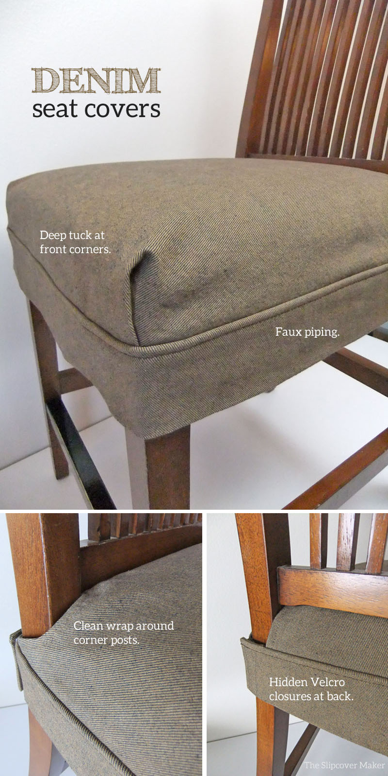 Tailored Denim Seat Covers The
