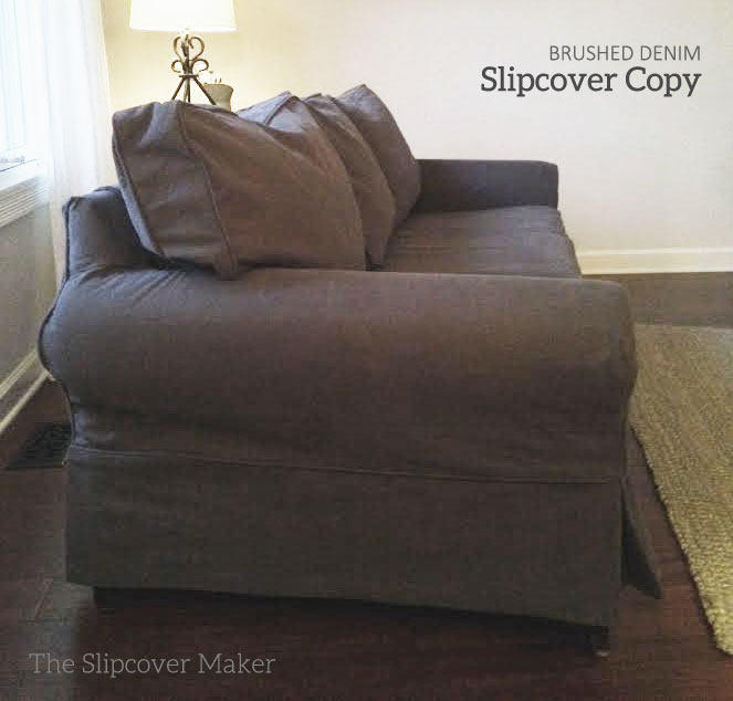 Slipcover Copy For Pottery Barn Basic
